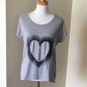 Size 20 (girls) Justice Heart Top
